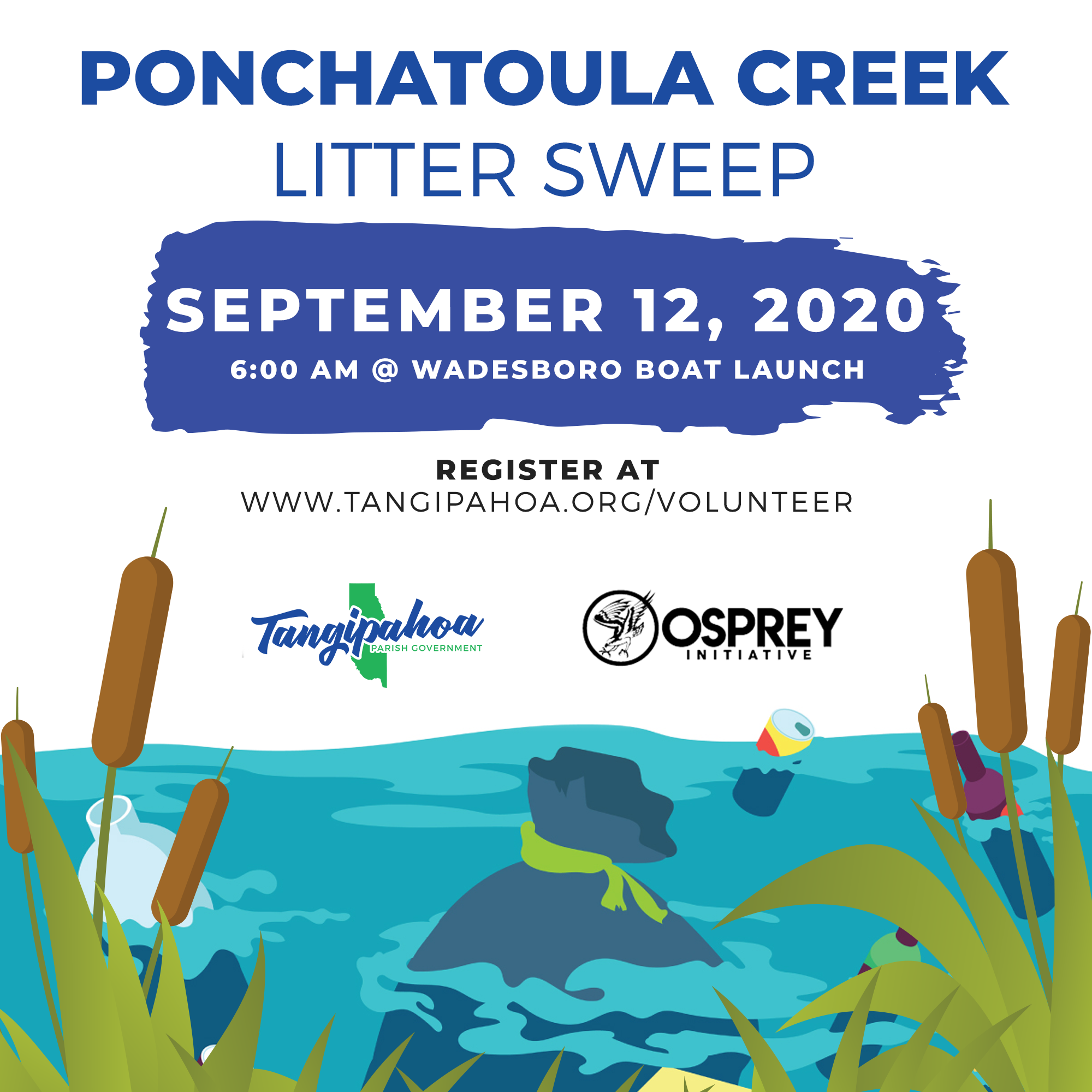 Manchac Litter Sweep Flyer